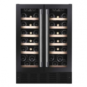 Hoover Built Under Wine Cooler Black Glass / Steel 60cm