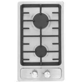 Montpellier 30cm Domino Gas Hob Stainless Steel