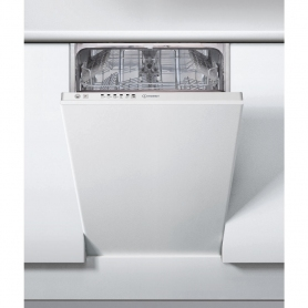 Indesit 45cm Slimline Integrated Dishwasher