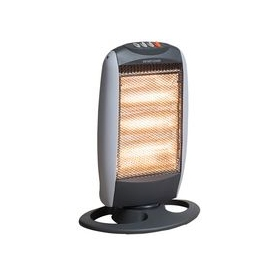 Daewoo 3-Bar 1200W Oscillating Halogen Heater