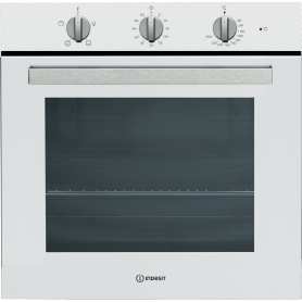 Indesit Built In Single Electric Oven White
