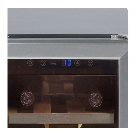 Lec GDHA Undercounter Wine Cooler 300mm Stainless Steel - 1