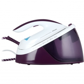 Philips PerfectCare Compact Essential Pressurized Steam Generator Iron - Purple