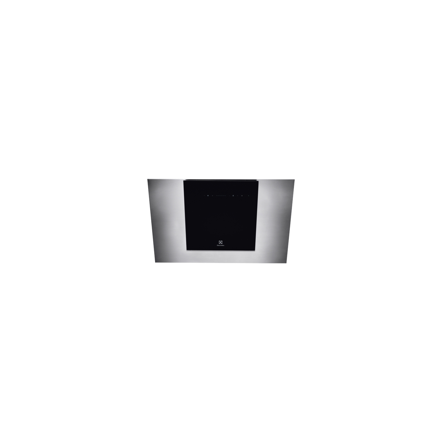 Electrolux 80cm Angled Chimney Hood Stainless Steel & Black - 1