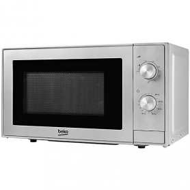 Beko Dial Control Microwave With Grill Silver